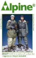 アルパイン1/35 フィギュアドイツ 武装親衛隊 第3次ハリコフ戦 (2体セット)