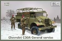 シボレー C30A 汎用トラック 金属荷台タイプ