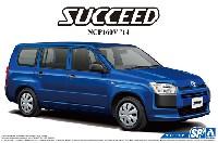 アオシマ1/24 ザ・モデルカートヨタ NCP160V サクシード '14