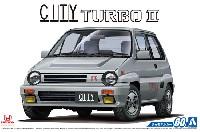 アオシマ1/24 ザ・モデルカーホンダ AA シティ ターボ 2 '85