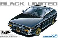 アオシマ1/24 ザ・モデルカートヨタ AE86 スプリンター トレノ GT-APEX ブラックリミテッド '86