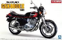 アオシマ1/12 バイクスズキ GSX400E2 1981