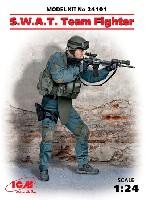 ICM1/24 フィギュアアメリカ S.W.A.T. 隊員