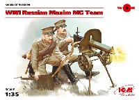 WW1 ロシア マキシム機関銃チーム