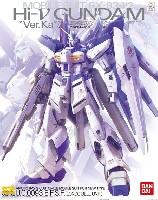 バンダイMG (マスターグレード)RX-93-ν2 Hi-νガンダム Ver.Ka プレミアムデカール付属