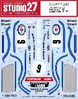 スタジオ27ツーリングカー/GTカー オリジナルデカールポルシェ 911 カレラ RSR ターボ #9 ワトキンズグレン 6時間レース 1974 デカール