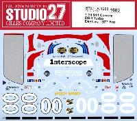 スタジオ27ツーリングカー/GTカー オリジナルデカールポルシェ 911 カレラ RSR ターボ デイトナ 1977 #00 デカール