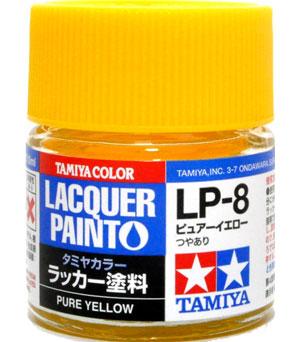 LP-8 ピュアーイエロー塗料(タミヤタミヤ ラッカー塗料No.LP-008)商品画像