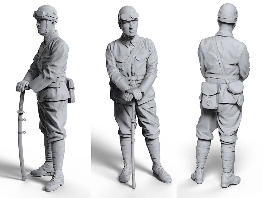 帝国陸軍 戦車指揮官プラモデル(タコム1/16 AFVNo.1005)商品画像_2