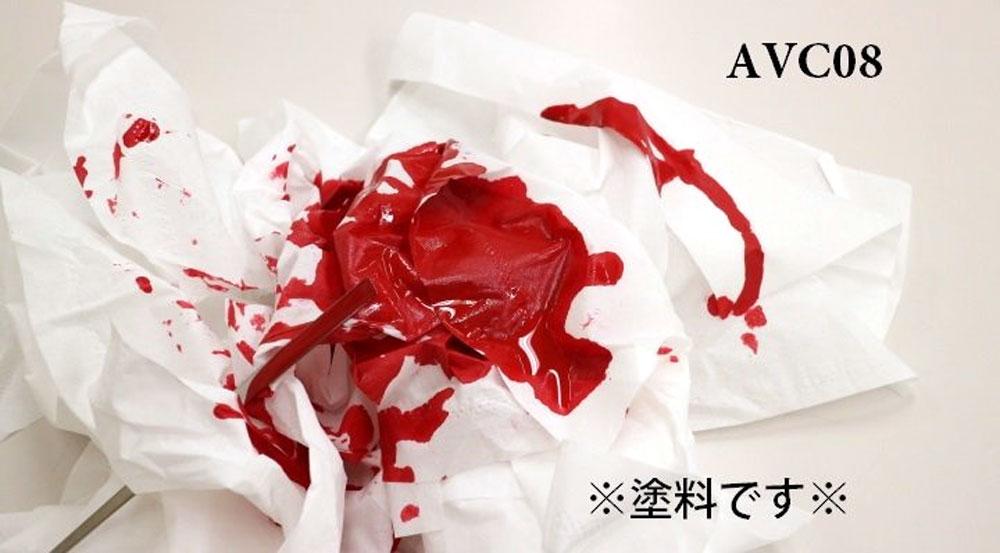 ブラッドレッド 1塗料(GSIクレオスMr.カラー 40th AnniversaryNo.AVC008)商品画像_3