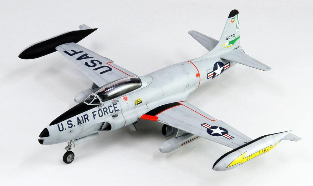 T-33A シューティングスター 後期型プラモデル(グレートウォールホビー1/48 ミリタリーエアクラフト プラモデルNo.L4821)商品画像_3