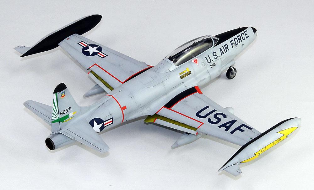 T-33A シューティングスター 後期型プラモデル(グレートウォールホビー1/48 ミリタリーエアクラフト プラモデルNo.L4821)商品画像_4