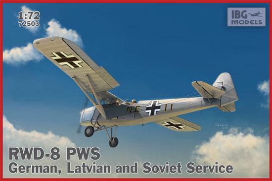 ポーランド RWD-8 PWS 複座練習機 ドイツ ラトビア ソ連軍仕様プラモデル(IBG1/72 エアクラフト プラモデルNo.72503)商品画像