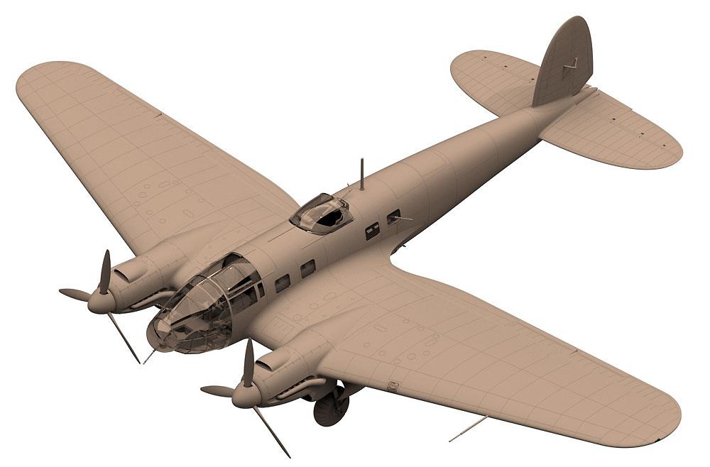 ハインケル He111H-3 爆撃機プラモデル(ICM1/48 エアクラフト プラモデルNo.48261)商品画像_2