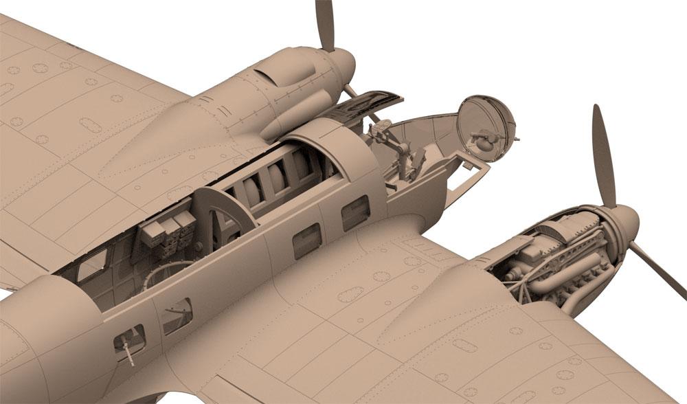 ハインケル He111H-3 爆撃機プラモデル(ICM1/48 エアクラフト プラモデルNo.48261)商品画像_3