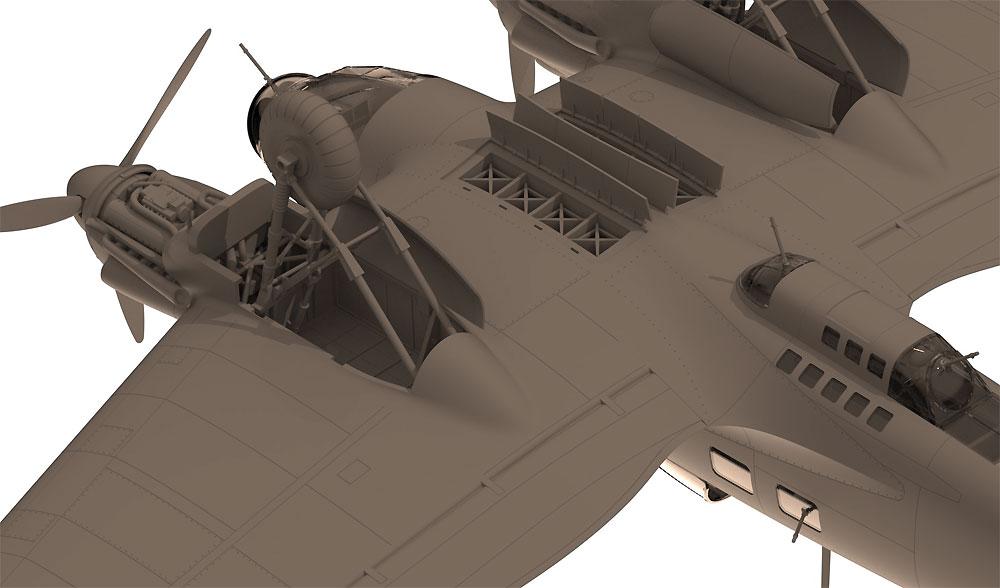 ハインケル He111H-3 爆撃機プラモデル(ICM1/48 エアクラフト プラモデルNo.48261)商品画像_4