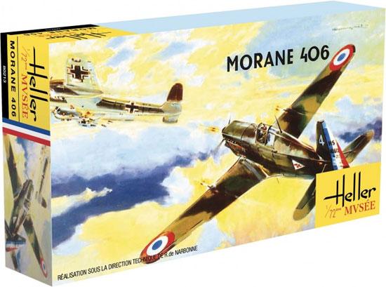 モラーヌ ソルニエ MS.406プラモデル(エレール1/72 エアクラフトNo.80213)商品画像