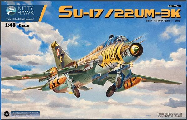 スホーイ Su-17 / 22UM-3K フィッターGプラモデル(キティホーク1/48 ミリタリーNo.KH80147)商品画像