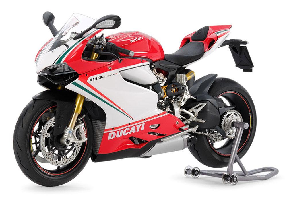 ドゥカティ 1199 パニガーレ S トリコローレプラモデル(タミヤ1/12 オートバイシリーズNo.132)商品画像_2