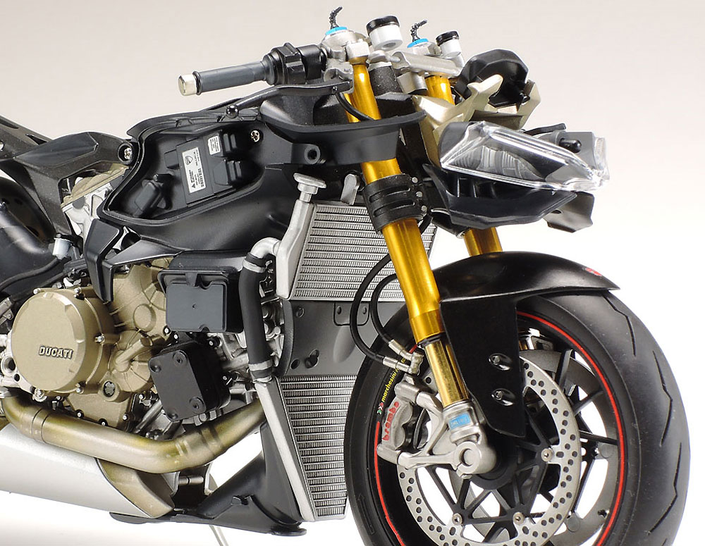ドゥカティ 1199 パニガーレ S トリコローレプラモデル(タミヤ1/12 オートバイシリーズNo.132)商品画像_4