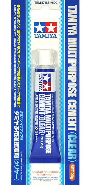 タミヤ 多用途接着剤 (クリヤー)接着剤(タミヤメイクアップ材No.87188)商品画像