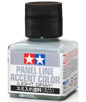 スミ入れ塗料 ライトグレイ塗料(タミヤメイクアップ材No.87189)商品画像