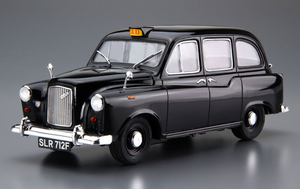FX-4 ロンドンタクシー '68プラモデル(アオシマ1/24 ザ・モデルカーNo.旧068)商品画像_2