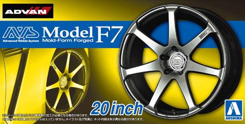 AVS モデルF7 20インチプラモデル(アオシマザ・チューンドパーツNo.082)商品画像