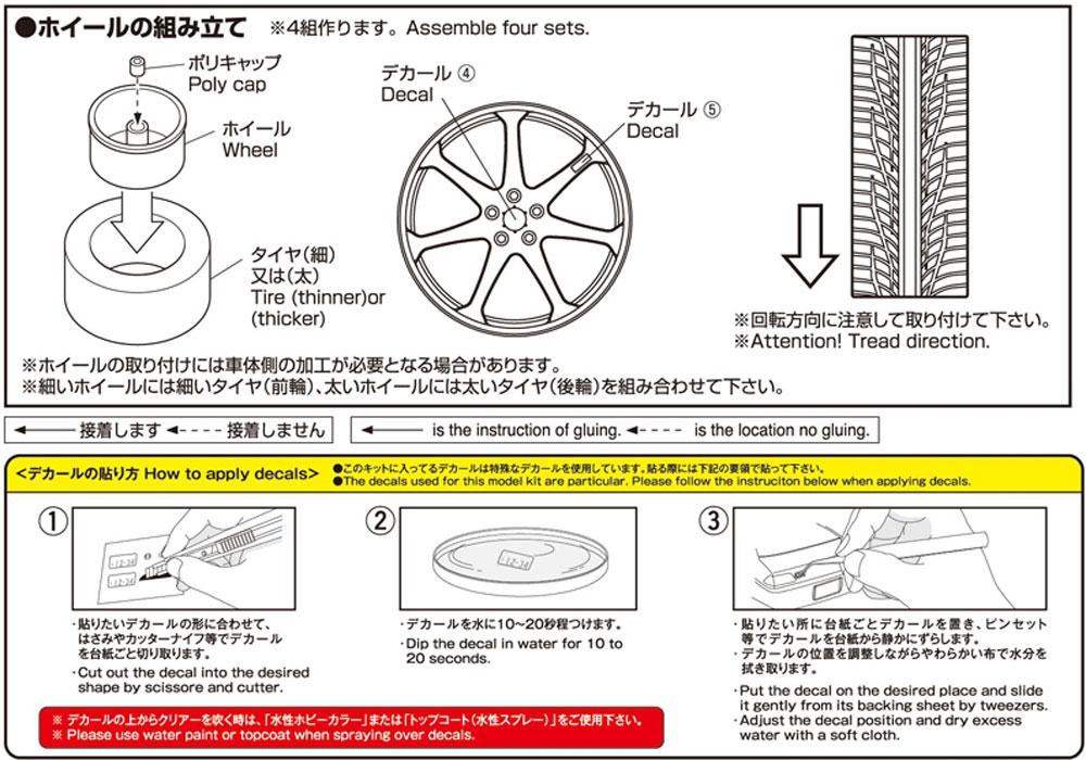 AVS モデルF7 20インチプラモデル(アオシマザ・チューンドパーツNo.082)商品画像_2