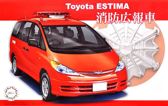 トヨタ エスティマ 消防広報車プラモデル(フジミ1/24 インチアップシリーズNo.263)商品画像