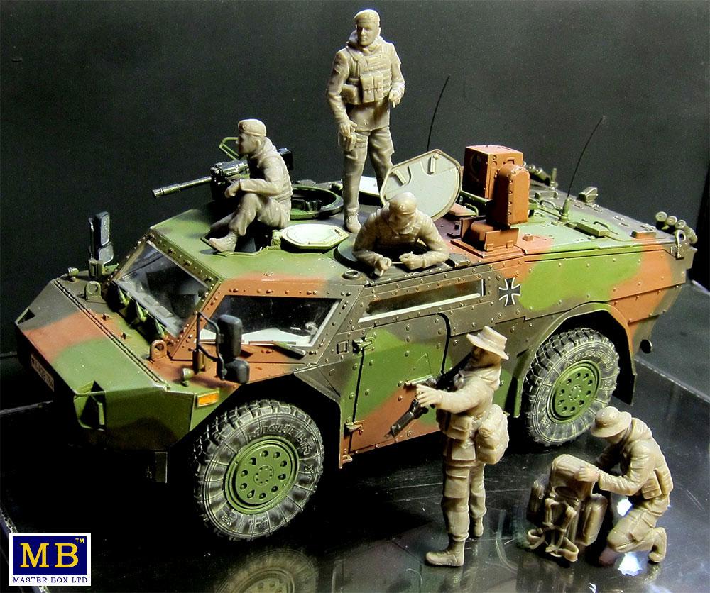 ドイツ連邦軍 軍用兵士 現代プラモデル(マスターボックス1/35 ミリタリーミニチュアNo.MB35195)商品画像_2