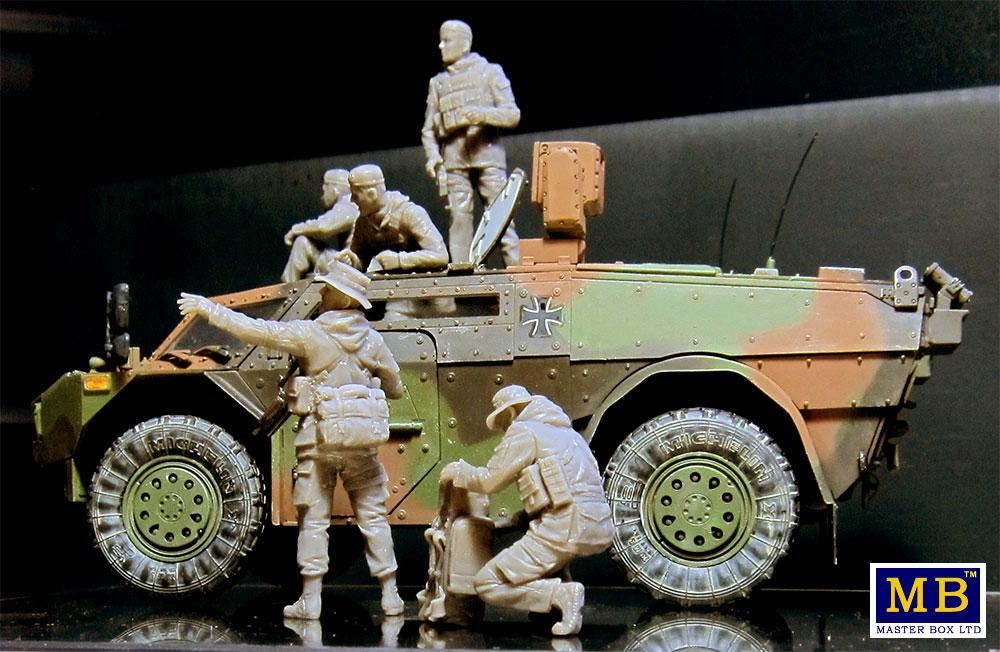 ドイツ連邦軍 軍用兵士 現代プラモデル(マスターボックス1/35 ミリタリーミニチュアNo.MB35195)商品画像_3