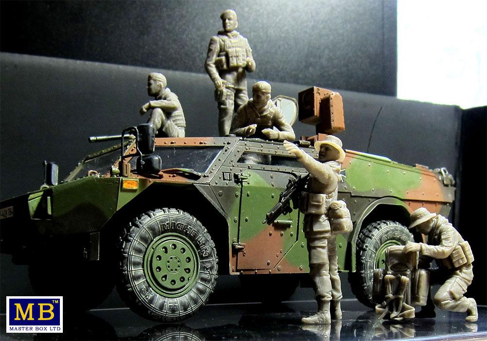 ドイツ連邦軍 軍用兵士 現代プラモデル(マスターボックス1/35 ミリタリーミニチュアNo.MB35195)商品画像_4