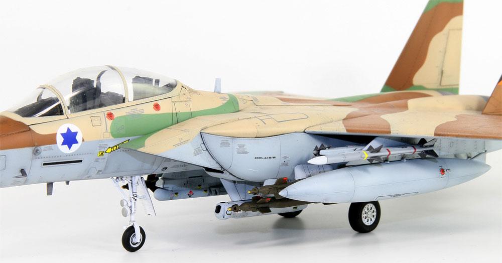 イスラエル空軍 F-15I ラームプラモデル(グレートウォールホビー1/72 エアクラフト プラモデルNo.L7202)商品画像_4