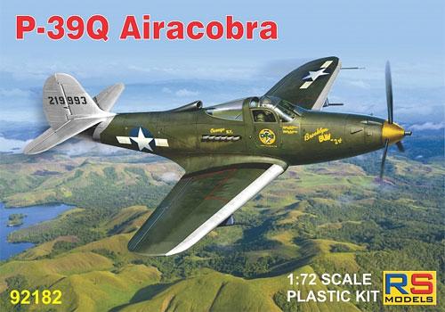 P-39Q エアラコブラプラモデル(RSモデル1/72 エアクラフト プラモデルNo.92182)商品画像