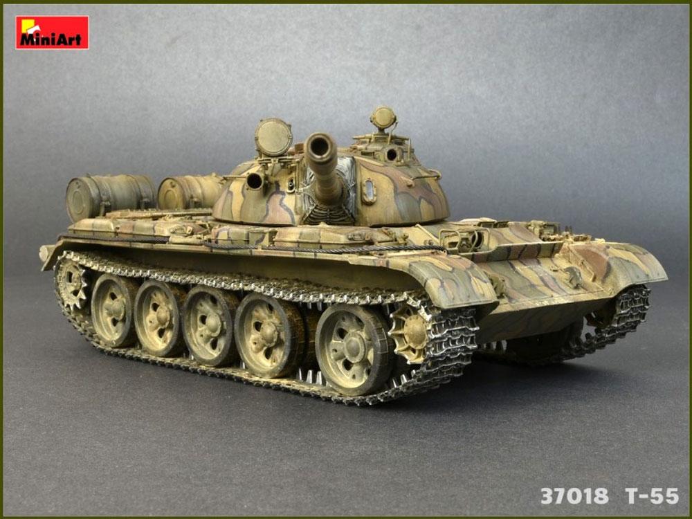 T-55 MOD.1963 フルインテリアプラモデル(ミニアート1/35 ミリタリーミニチュアNo.37018)商品画像_1