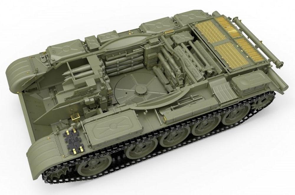 T-55 MOD.1963 フルインテリアプラモデル(ミニアート1/35 ミリタリーミニチュアNo.37018)商品画像_2