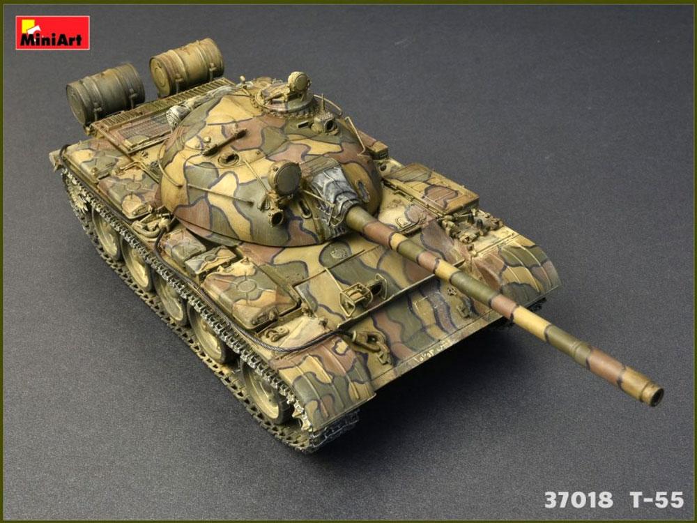 T-55 MOD.1963 フルインテリアプラモデル(ミニアート1/35 ミリタリーミニチュアNo.37018)商品画像_4
