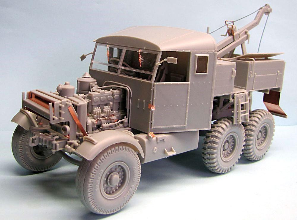 イギリス スキャンメル パイオニア SV/2S リカバリートラクタープラモデル(サンダーモデルプラスチックモデルキットNo.35201)商品画像_2