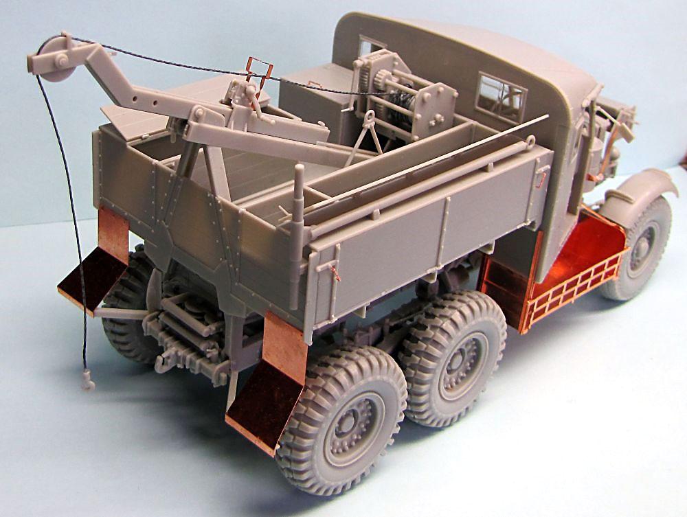 イギリス スキャンメル パイオニア SV/2S リカバリートラクタープラモデル(サンダーモデルプラスチックモデルキットNo.35201)商品画像_3