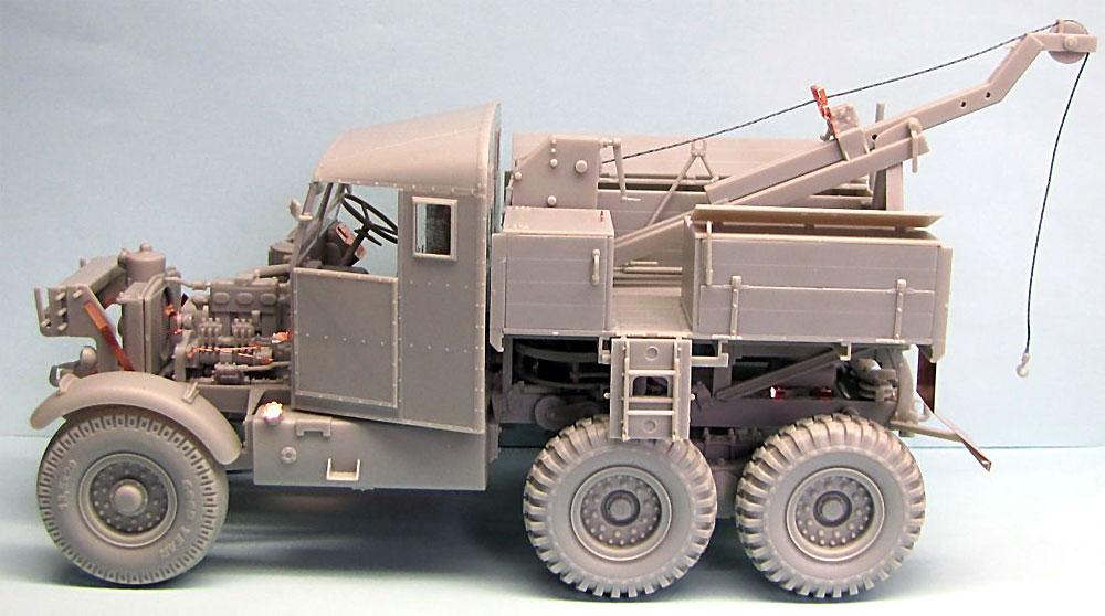 イギリス スキャンメル パイオニア SV/2S リカバリートラクタープラモデル(サンダーモデルプラスチックモデルキットNo.35201)商品画像_4