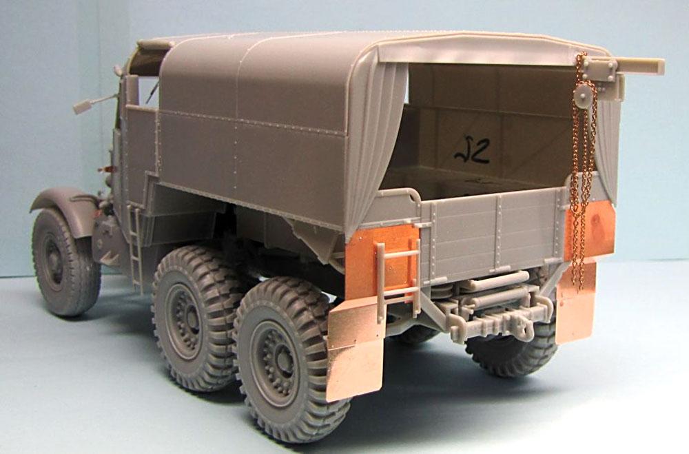 イギリス スキャメル パイオニア 重砲牽引トラクター R100プラモデル(サンダーモデルプラスチックモデルキットNo.35202)商品画像_2