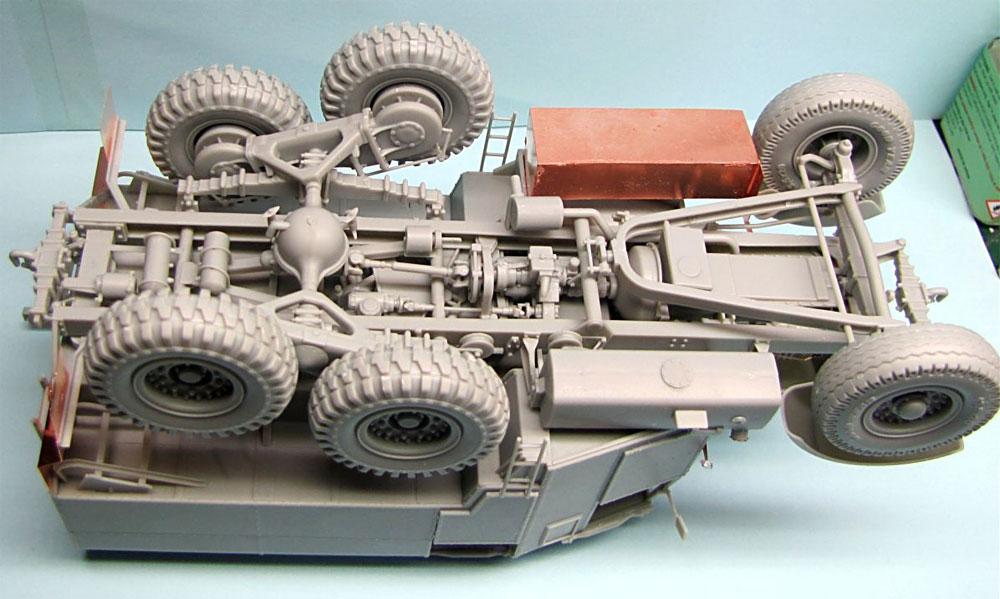 イギリス スキャメル パイオニア 重砲牽引トラクター R100プラモデル(サンダーモデルプラスチックモデルキットNo.35202)商品画像_3