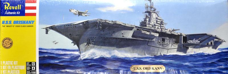 U.S.S. オリスカニープラモデル(レベルShips(艦船関係モデル)No.85-0318)商品画像