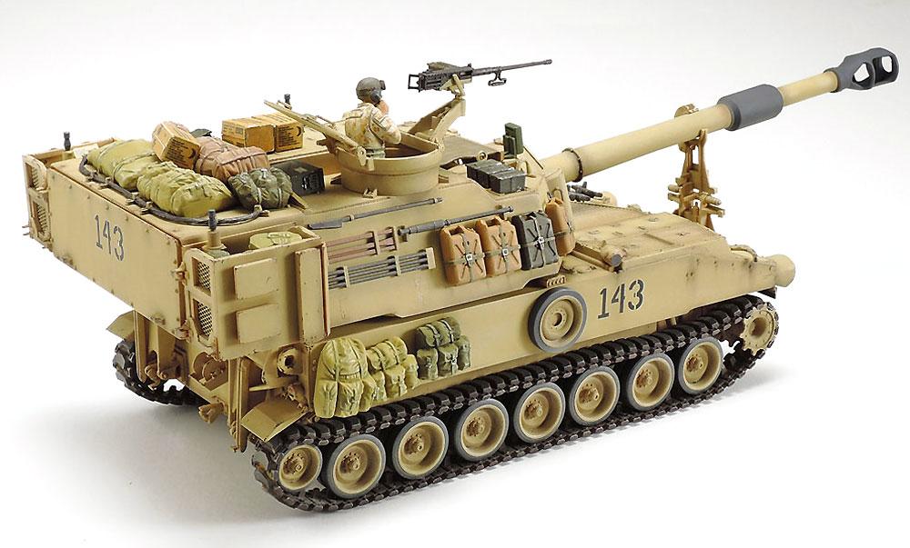 アメリカ 自走砲 M109A6 パラディン イラク戦争プラモデル(タミヤタミヤ イタレリ シリーズNo.37026)商品画像_3