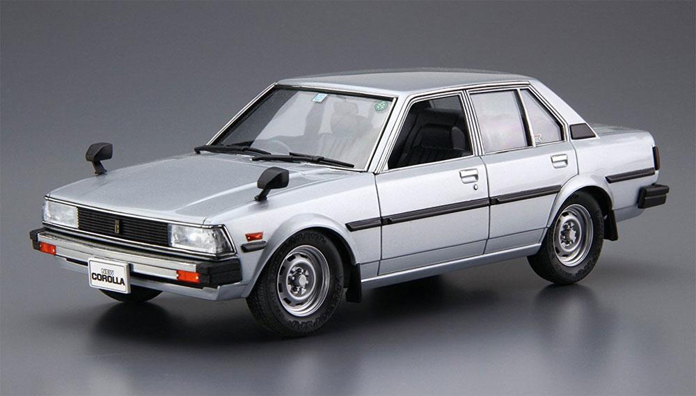 トヨタ E70 カローラセダン GT/DX '81プラモデル(アオシマ1/24 ザ・モデルカーNo.071)商品画像_1