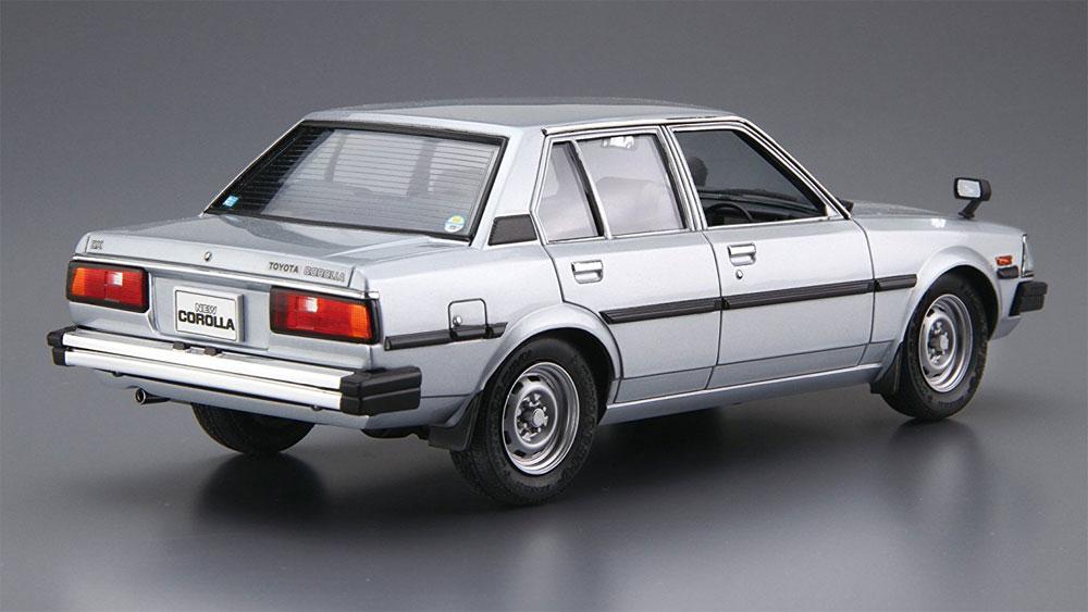 トヨタ E70 カローラセダン GT/DX '81プラモデル(アオシマ1/24 ザ・モデルカーNo.071)商品画像_3