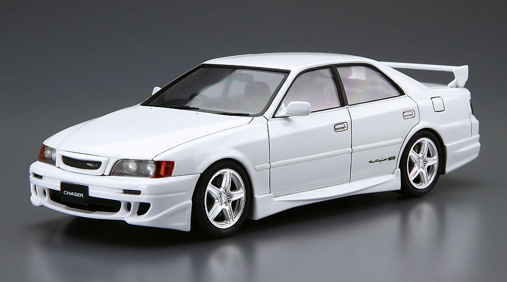 TRD JZX100 チェイサー '98 (トヨタ)プラモデル(アオシマ1/24 ザ・チューンドカーNo.047)商品画像_2