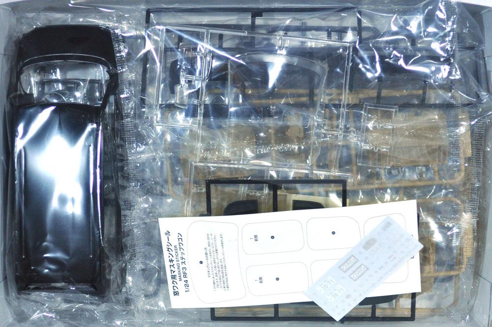D.A.D RF3 ステップワゴン '01 (ホンダ)プラモデル(アオシマ1/24 ザ・チューンドカーNo.048)商品画像_1