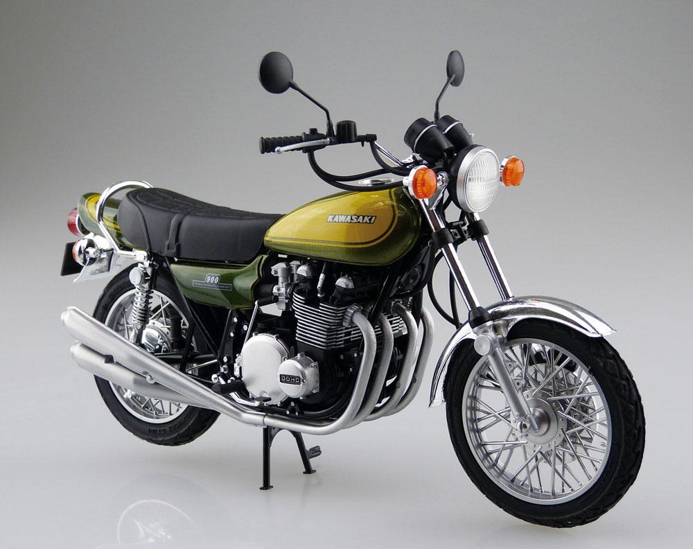 カワサキ 900 SUPER 4 Z1 カスタムパーツ付属プラモデル(アオシマ1/12 バイクNo.056)商品画像_2